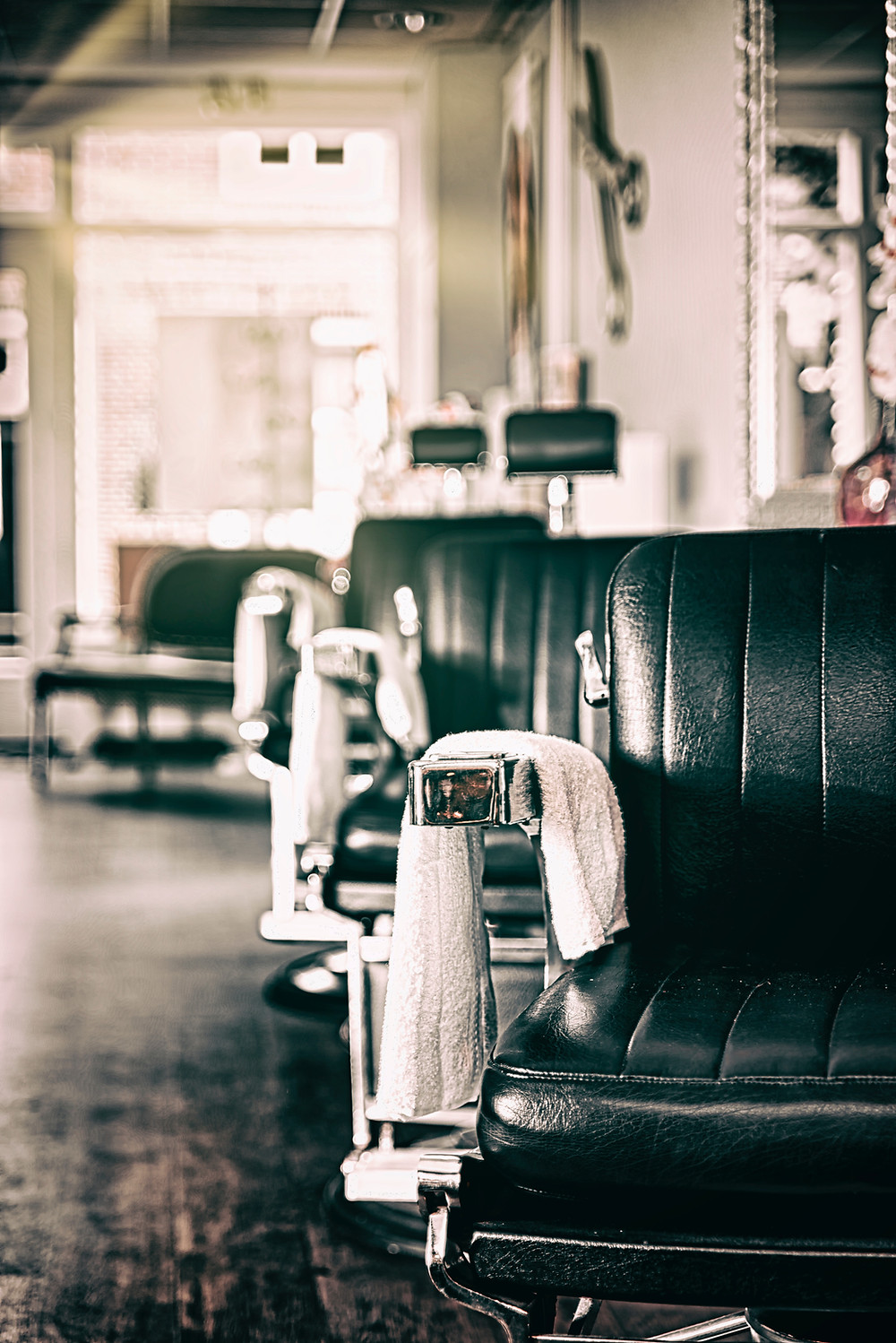 barber shop chairs