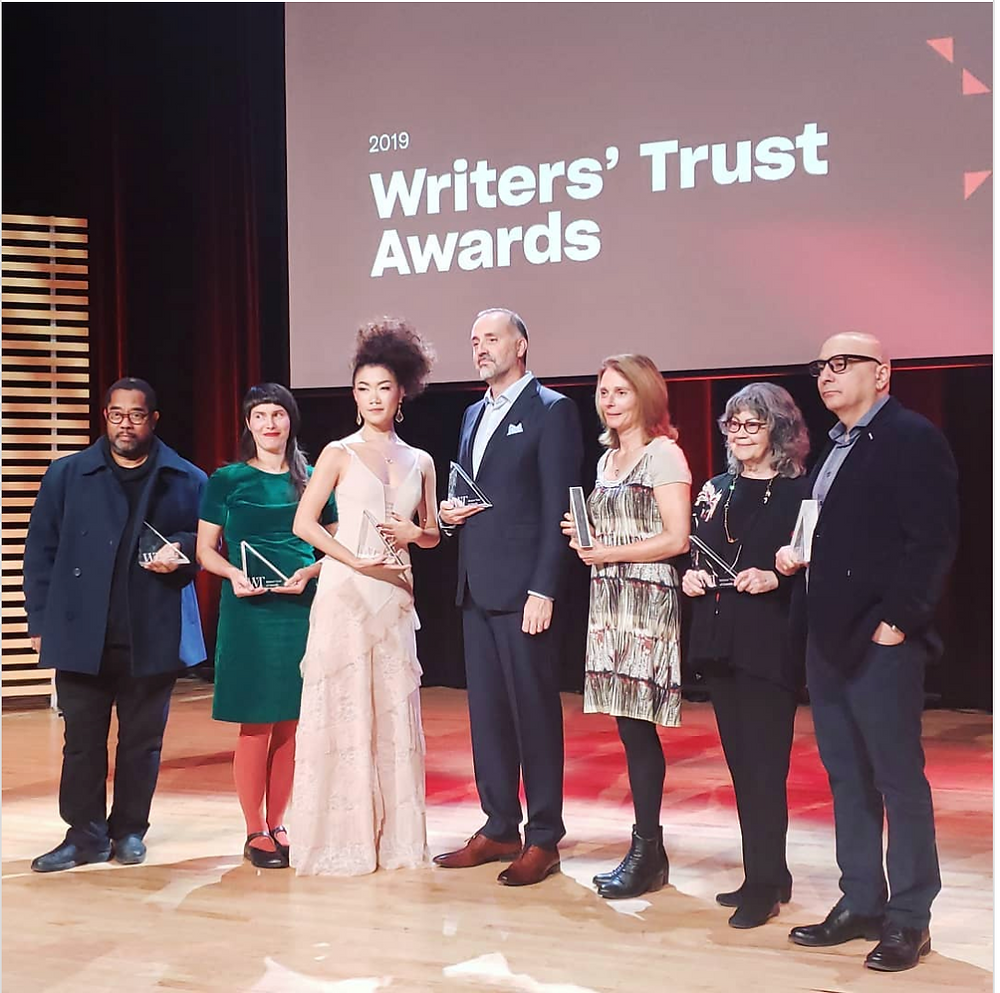 Writers' Trust Awards 2019