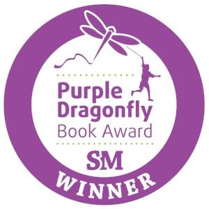 Purple Dragonfly Book Award SM Winner seal