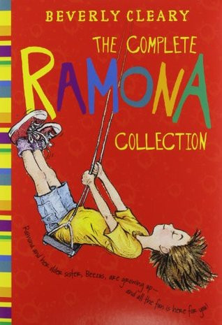 The Complete Ramona Collection cover showing an illustration of Ramona on a swing