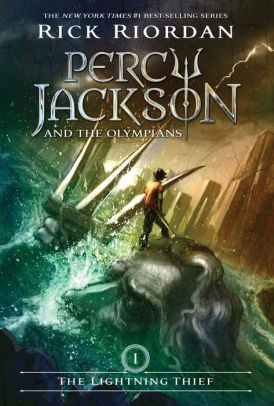 Cover for Percy Jackson and the Olympians 1: The Lightning Thief