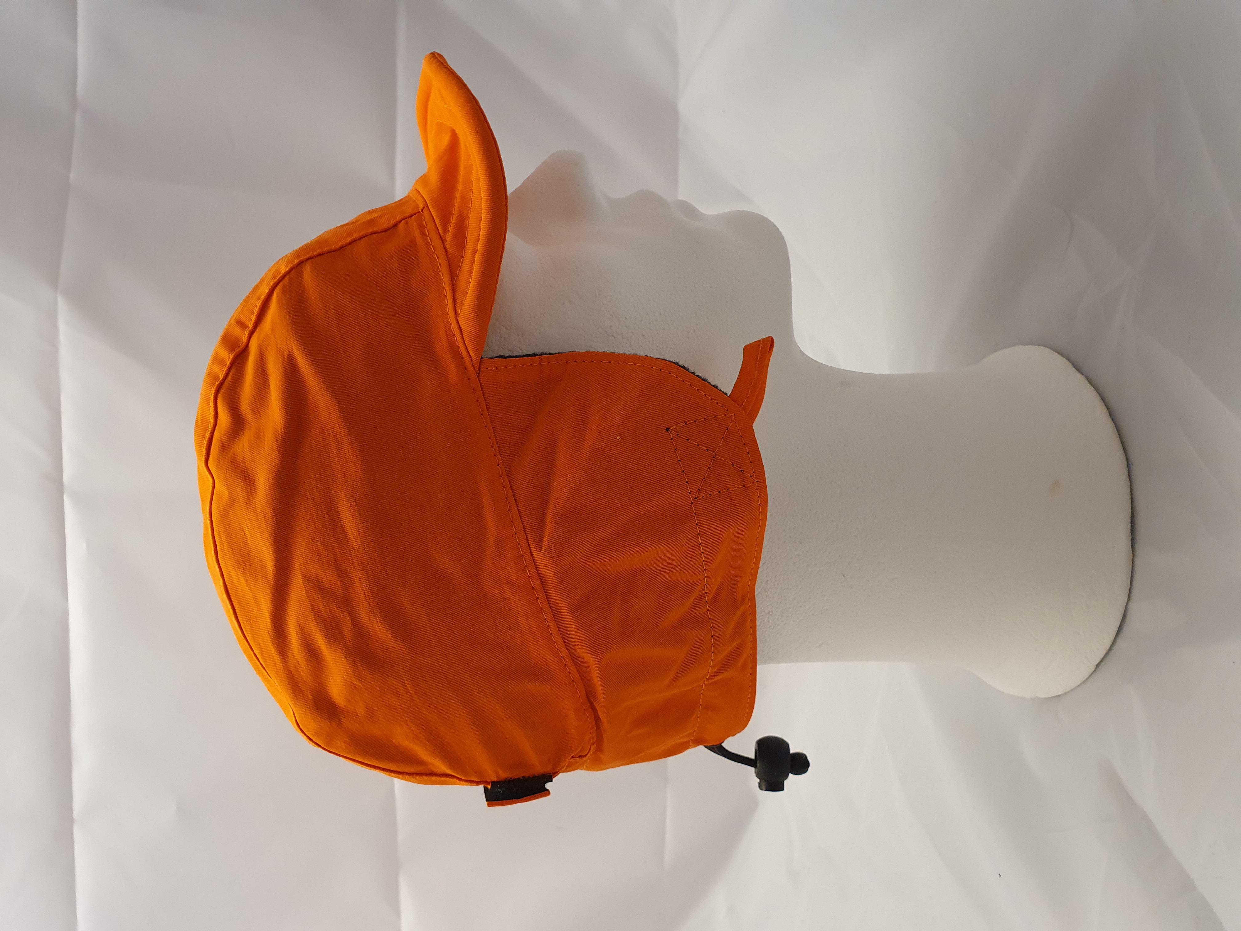 Fulmössa Orange