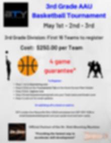 Boys 3rd Grade Basketball Tournament  (1