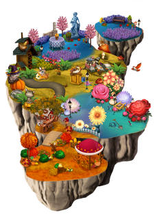World 2 windy woodland ralpgames_game art outsourcing