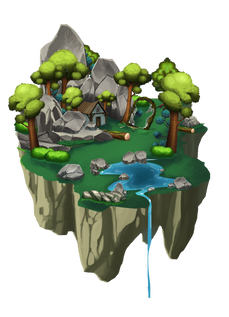 deep in the fairy forest ralpgames_game art outsourcing