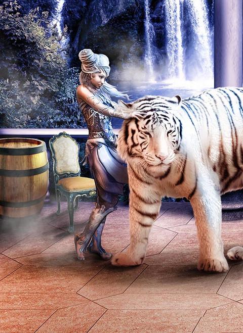 white tiger ralpgames game art outsourcing