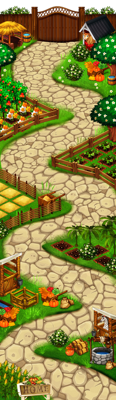 Farm-Adventure-Mahjong-Map ralpgames_game art outsourcing