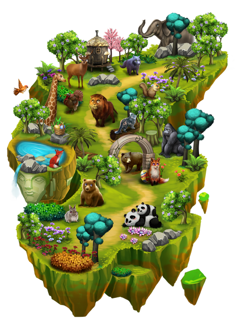 Worldmap3 - Wildlife Woods.png