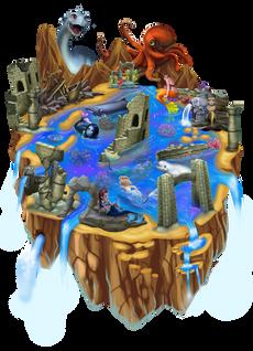 Worldmap2 - Mermaids Atlanteans Oceans.p