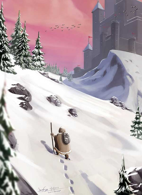 icy-mountain ralpgames game art outsourcing