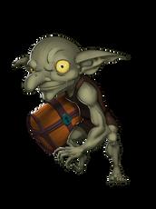 goblin with treasure chest ralpgames_art_character_design