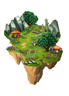 fairy woodland ralpgames_game art outsourcing