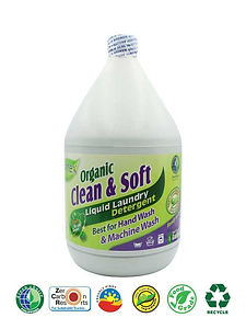 Plantex Organic Clean and Soft Liquid Laundry Detergent