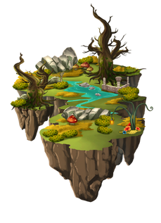 elven woods ralpgames_game art outsourcing