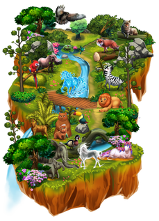 Worldmap-Majestic Plains ralpgames_game art outsourcing