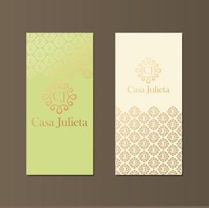 gold foil branding mockup_Casa Julieta_v