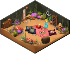 Room-underwatergarden ralpgames_game art outsourcing