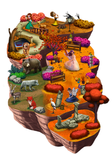 World 4 brightfall forest ralpgames_game art outsourcing