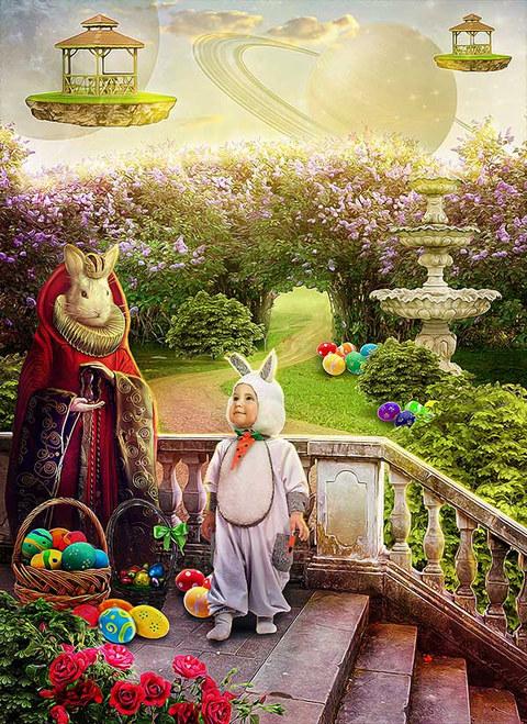 Game Art Illustration Easter Fantasy