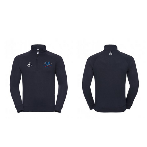 Alnwick Bogies 1/2 Zip Sweater