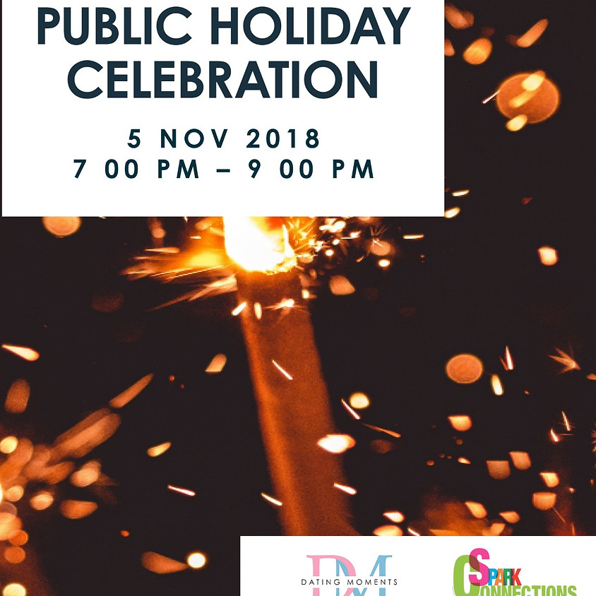 SDN Dating Deal 2018 - Public Holiday Celebration