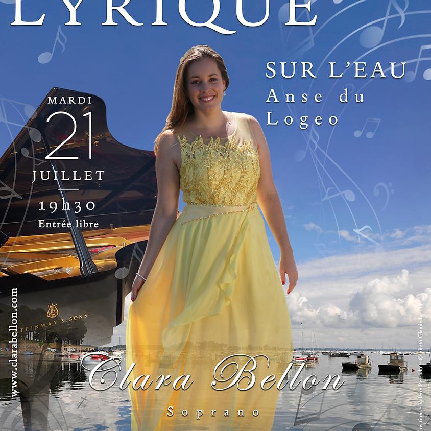 Récital lyrique sur l'eau - Anse du Logeo
