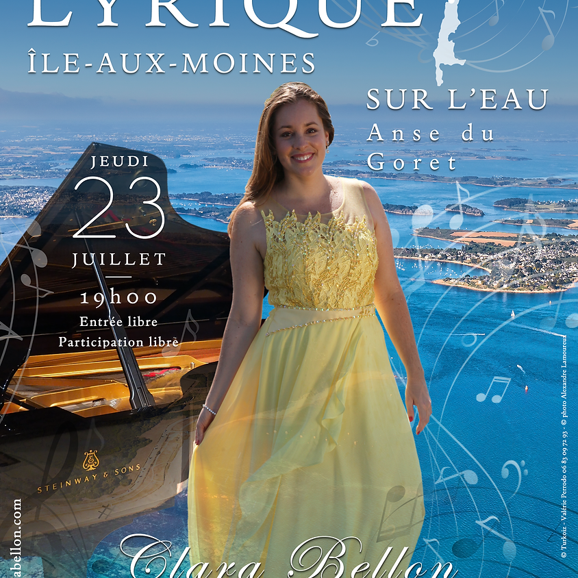 Récital lyrique sur l'eau - Ile-aux-Moines