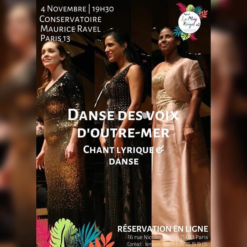 Concert Danse des Voix d'Outre-mer