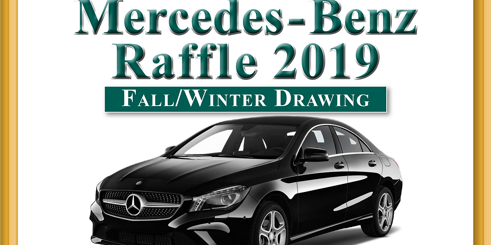 Mercedes-Benz Raffle 2019, Fall/Winter Drawing