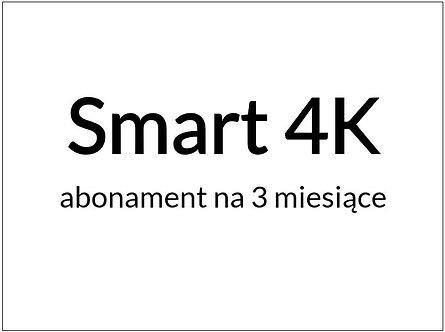 PRZEDŁUŻENIE - Pakiet Smart 4K (3 miesiące / 90 dni)