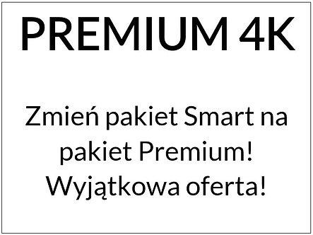 Zmień pakiet Smart na pakiet Premium 4K