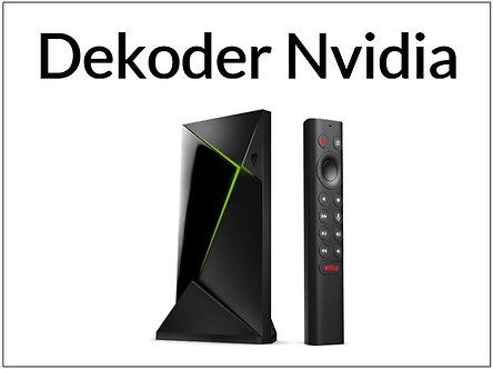 Dekoder Nvidia Shield 4K Pro