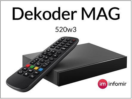 Dekoder MAG 520w3 4K