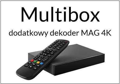Multibox ( z dekoderem MAG 520w3)