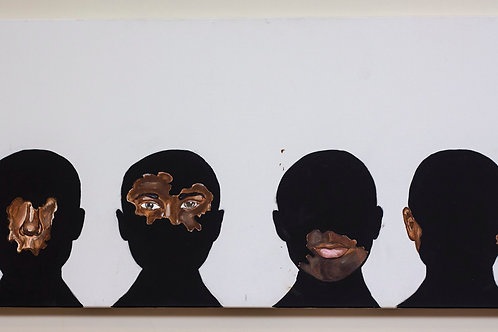 Senseless (Canvas Print) 48x24