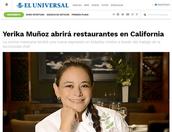 El Universal Chef Yerika Muñoz