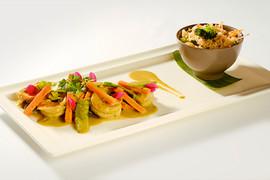 Camarones y chaufa (2)
