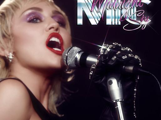 """Miley Cyrus Announces """"Midnight Sky"""" & Teases Album"""
