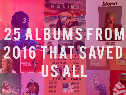 25 Stunning Albums from 2016