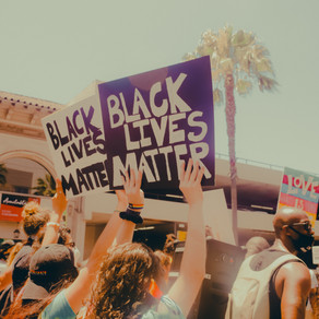Pride x Black Lives Matter March In Solidarity 🏳️🌈