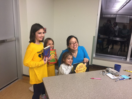 Grace Lin visits EGR!