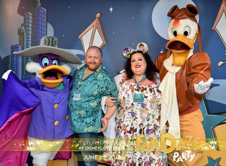 Disneyland Paris Inaugural FANDAZE Party 2nd June 2018 – Review
