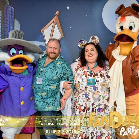 Disneyland Paris Inaugural FANDAZE Party 2nd June 2018 – Review