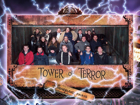 ‪Hollywood Tower of Terror 10th Anniversary AP Event – Review