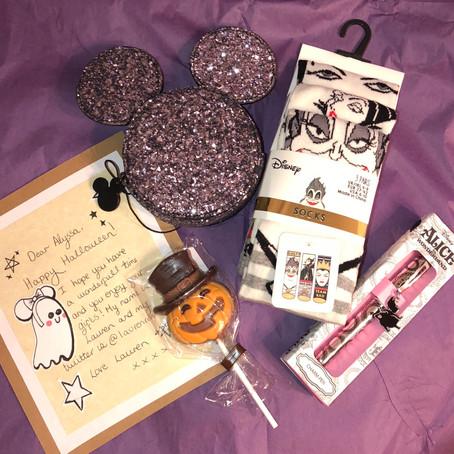 Disney Halloween Twitter Gift Exchange