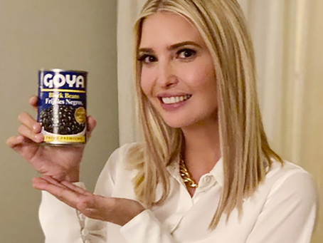 Ivanka Trump Poses with Black Beans, Violates Ethics Standards