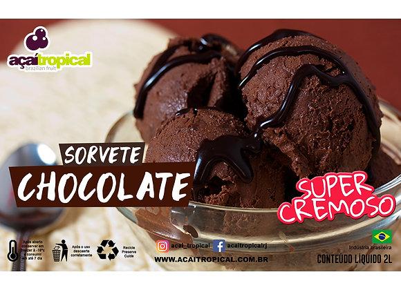 Sorvete Chocolate Pote 2L