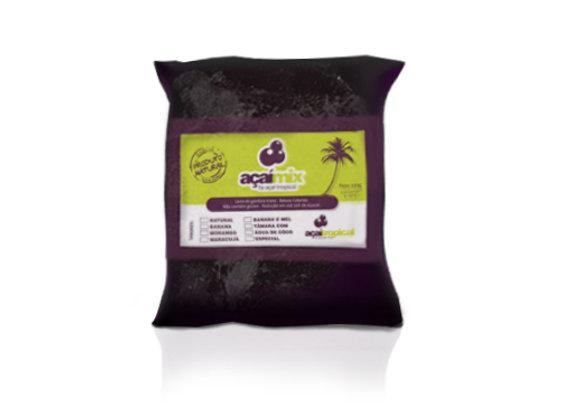 Acaí Mix, tâmara/água coco, embalagem com 10 unid de 320g