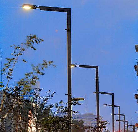 תאורת רחוב מצילת חיים | IPI