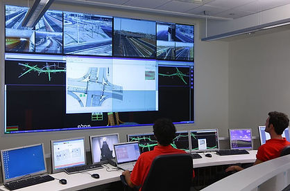 IPI's traffic control room